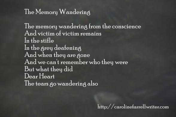 The Memory Wandering